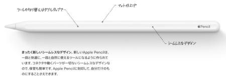 apple, pencil